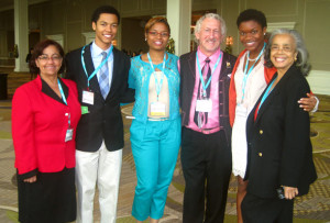 Dr. Daisy Deleon, Gordon Pherribo, Courtney Christian, Pearl Eni, Dr. Sandra Murray