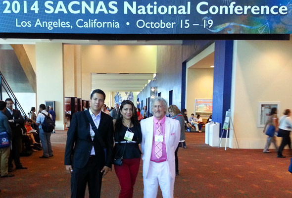 SACNAS National Conference – With Aldo Alvarez, Wilnerys Colberg