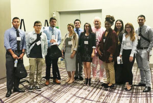 CSUDH Pre-health (PHS) students at a NAMME Conference